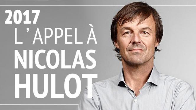 Une pétition pour inciter Nicolas Hulot à être candidat en 2017