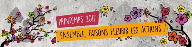 Printemps 2017 : faisons fleurir les actions contre le nucléaire !